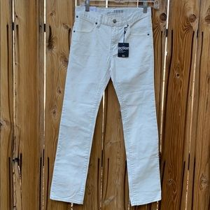 Gap Kid's Boy's White Skinny Jeans NWT   12 Reg